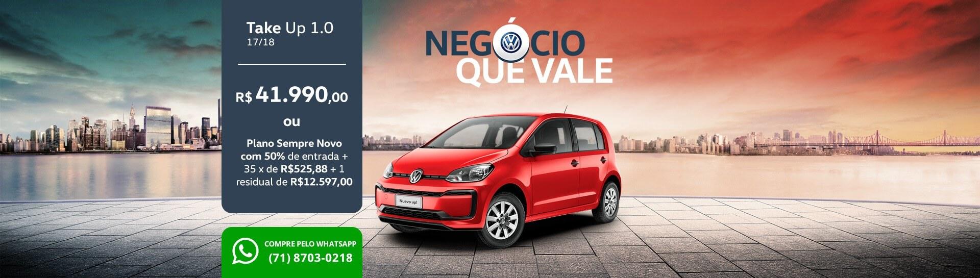 Negócio que Vale - up! - Sanave Volkswagen