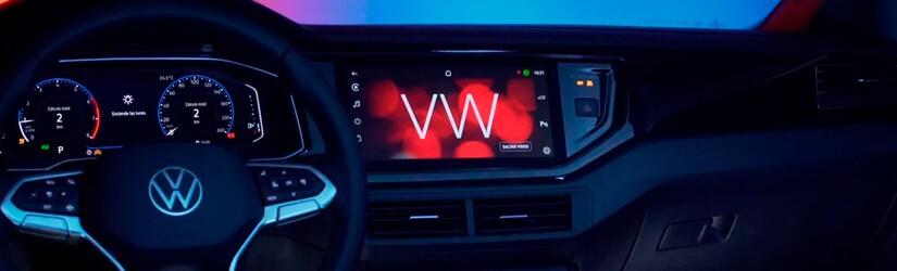 Suas definições de infotainment foram atualizadas e Entretenimento, navegação e dados do veículo.