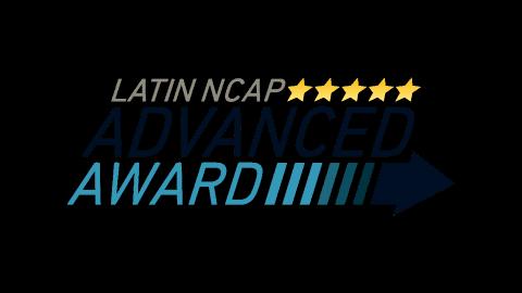 Primeiro veículo comercializado no Brasil a conquistar nota máxima no Latin NCAP com Advanced Award para Proteção aos Pedrestres